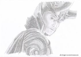 Loki - God of mischief I by TheRavenArt