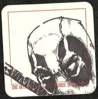 Drink and Draw Coaster Drawing Deadpool by xashe