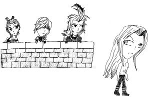 Sephiroth's Admirers by Eckilsax