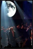 Fullmoon over the stage by curan