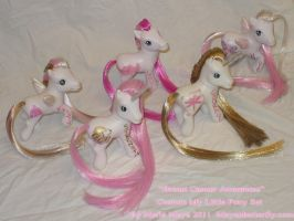 Breast Cancer Awareness Ponies by mayanbutterfly