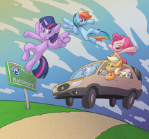 The Road to Bronycon by Sound-Resonance