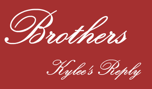 Brothers -Kylee's Reply- by SonicRocksMySocks