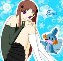 Ema and Mudkip by pokemonbreeder1