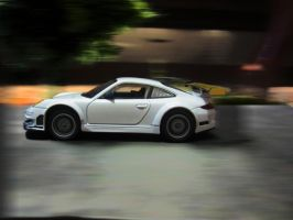 1:32 Diecast Porsche GT3 RSR in Motion by VinJiro