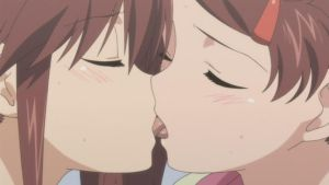 Yuri Kiss 3 by girlkissgirl2