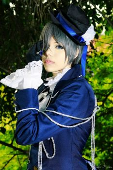 My name is Ciel Phamtomhive. by yuarisato