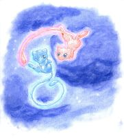 Mew Lullaby by Porcubird