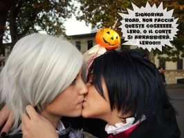Road-sama, Don't kiss an exorcist, Lero by Lexine90
