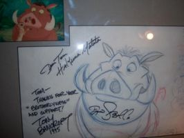 On the walls_Tony B_Pumbaa by tombancroft