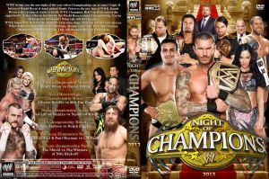 WWE Night of Champions 2013 DVD Cover V3 by Chirantha