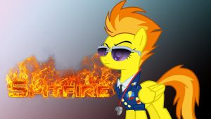 Spitfire Wallpaper by hellpes