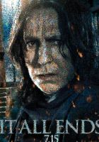 HP2 - Snape Mosaic poster by smallrinilady