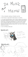 Music meme! by BeCarefulPaint