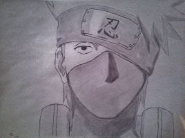 Kakashi by BlackWhiteSunrise