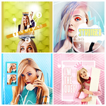 Icons Set Elle Fanning by shad-designs