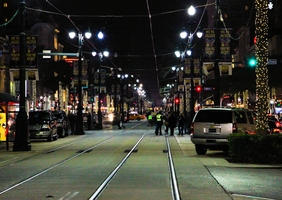 Canal Street, New Orleans by Vitaloverdose