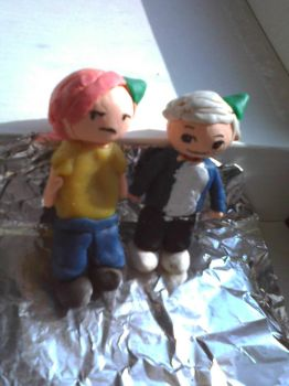 Gerard-Bob Draco-Ron Present by songofhateanddeath