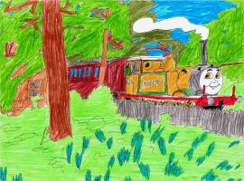 The Bluebell Engine by MeganekkoPlymouth241