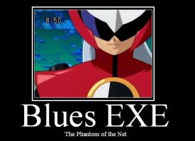 Blues EXE Monivational Poster by sound-ninja-2008