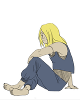 Deidara Flats by A-Griffin-And-Duck