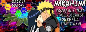 Naruhina August Facebook Cover by 18deadulybeauty18