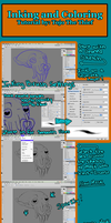 Inking and Coloring Tutorial by Tojo-The-Thief