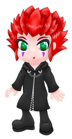 Axel chibi by MikariStar