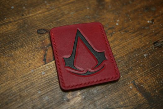 Assassin's Creed handmade leather cardholder by Arnakhat
