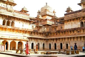 Palace  Orcha 2  India by CitizenFresh