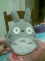 TOTORO PLUSH by marypiccia