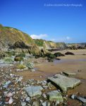 Welsh Cliffs Welsh Sand by Hitomii