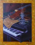 Piano and Violon- Version 2 by Mee-Lin