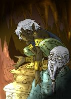 fan fic drizzt by LadyTwinkle