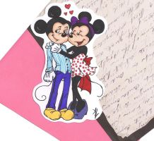 Mickey And Minnie by MandyDandy-02