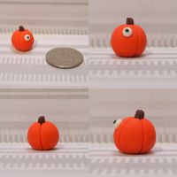 Mini Pumpkin Timid Monster by TimidMonsters