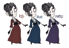 Old Concept Art: Winona Coloring by TheDarkwoodsCircus