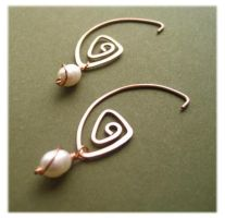 Pearl Copper Coils by kittenspawn