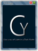 CY Logo Windows Title by cyogesh56