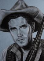 Jeffrey Hunter by MissCosettePontmercy
