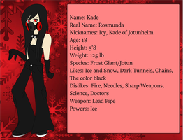 [Creepypasta OC] Kade by JotunPrincess-xX