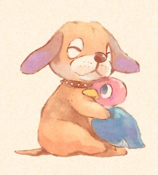 Duck Hunt Puppy and Duckling! by superkid123