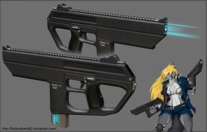 Strype SMG by TheBadPanda2