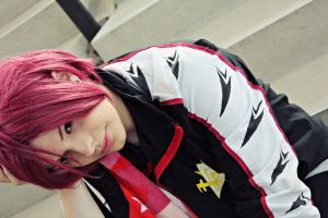 Rin Matsuoka Cosplay: Hidden Dispair by karinWaterproof