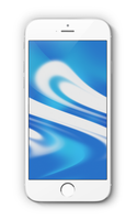 Maori-Blue Wallpaper for iPhone and iPhone 6 Plus by kiwimanjaro
