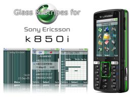 Glass and Stripes for k850i by marse77