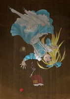 Alice Down the rabbit Hole by ForteBlues