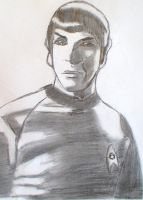 Another Picture of Spock by KeeperNovaIce