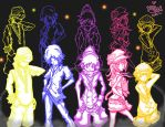TWEWY Group: Neon by Saiya-STORY