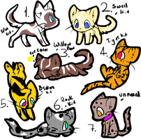 Kit adopts!open free for watchers by flamelover1